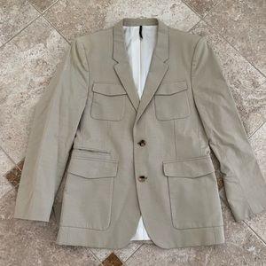 Givenchy tan blazer. Men's, size 48